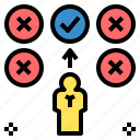 assortment, check, choice, choose, list, select, selection icon