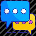 bubble, comment, communication, message, post, social, speech icon