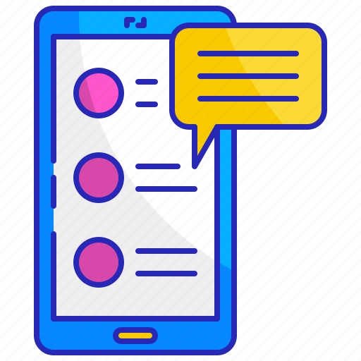 feedback, internet, mobile, online, opinion, phone, survey icon