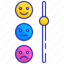 bad, customer, good, meter, rating, satisfaction, scale