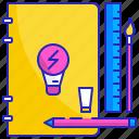 art, artist, creative, creativity, idea, think, thinking icon
