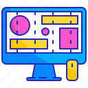 design, grid, line, prototype, template, web, wireframe