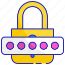 lock, login, padlock, password, privacy, protection, security icon
