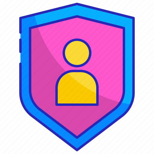 account, information, login, protection, safety, security, shield icon