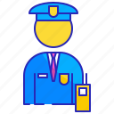 guard, officer, police, protection, safety, security, uniform