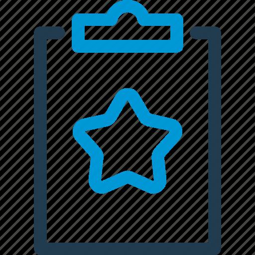 board, favorite, plan, schedule, star, task, taskboard icon