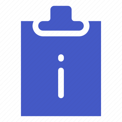 document, file, information, task icon
