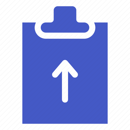 arrow, document, file, increase, task, up icon