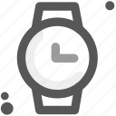 clock, hour, minute, second, time period, time zone, watch icon
