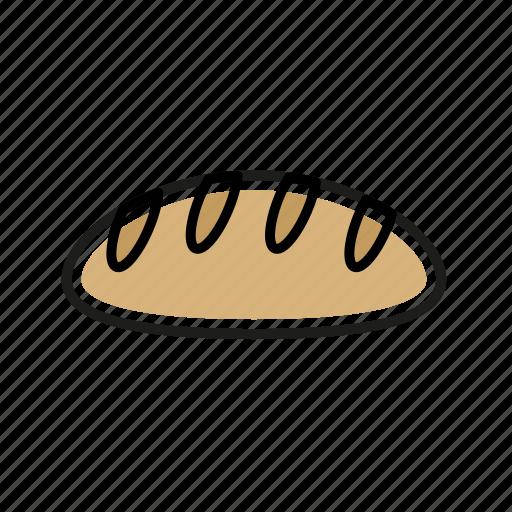 bread, food, kitchen, meal, restaurant icon