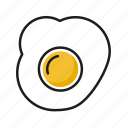 egg, food, kitchen, meal, restaurant icon