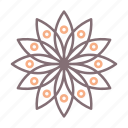 tattoo, floral, flowers icon