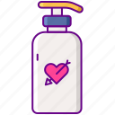 cleanser, skin, tattoo icon