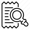 bill, thin, ticket, vector, yul928 icon