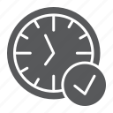 clock, countdown, deadline, in, time, watch icon