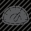 car, fast, measurement, panel, speed, speedometer icon