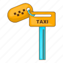 car, cartoon, keys, sign, taxi, transport, vehicle icon