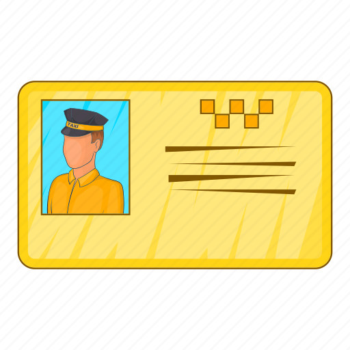 Car, cartoon, document, driver, sign, taxi, transportation icon - Download on Iconfinder