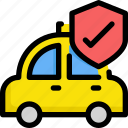delivery, protection, security, service, taxi icon