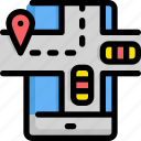 delivery, find, gps, location, map, service, taxi icon
