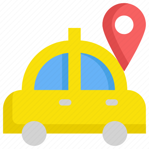 delivery, gps, location, map, navigation, service, taxi icon