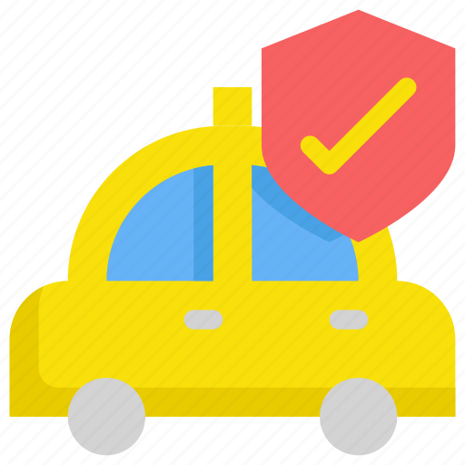 delivery, protection, safe, secure, security, service, taxi icon