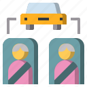 belt, car, passenger, sit, transport, travel, user icon
