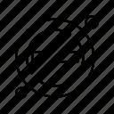 block, forbidden, service, taxi icon
