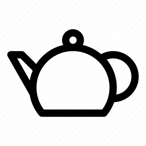 hot drinks, kitchen, tea, tea brew, teapot icon
