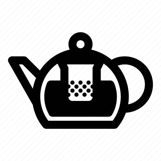 brewing, infuser teapot, kettle, tea, tea brewing, teapot icon