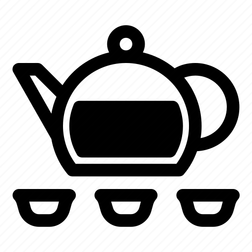 hot drinks, kettle, tea, tea ceremony, tea party, tea things, teapot icon