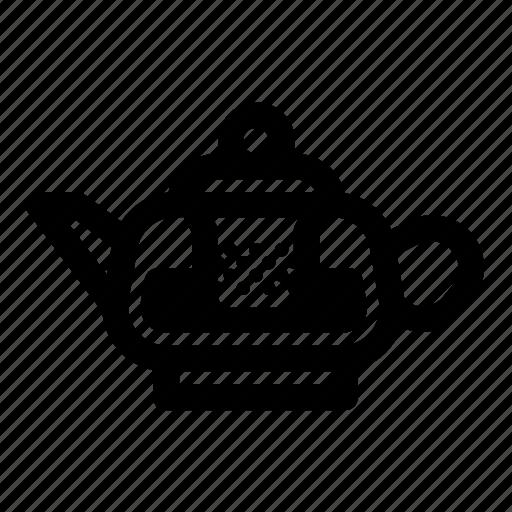 infuser teapot, tea, tea brew, tea brewing, teapot icon