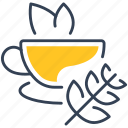 drink, fruit, tea icon