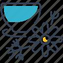 chamomile, drink, fruit, tea icon