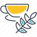 drink, fruit, green, tea icon