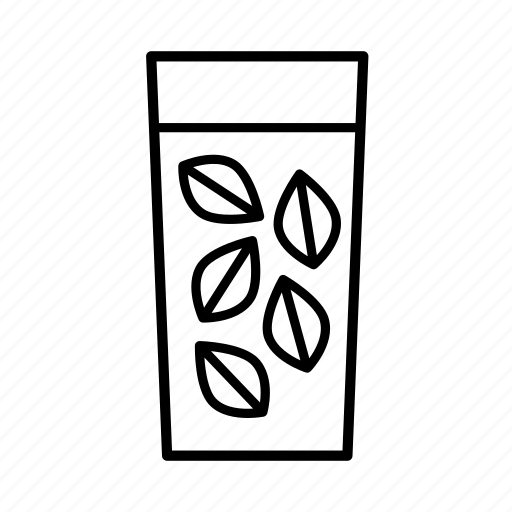 cups, drink, drinks, green tea, iced tea, tea icon