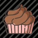 cake, cupcake, dessert, sweet icon
