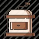 coffee, drink, grinder, maker