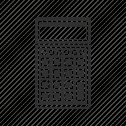 calculator, math, numbers, school icon
