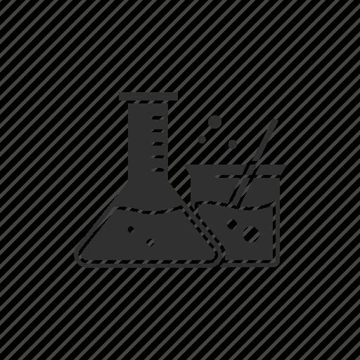 experiment, laboratory, science, tube icon