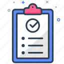 analytics, checklist, list, report, statistics, success, task icon