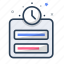 alarm, management, schedule, task, time, timer, timing icon