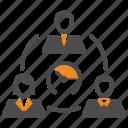 deadline, sla, team, teamwork, time, users icon