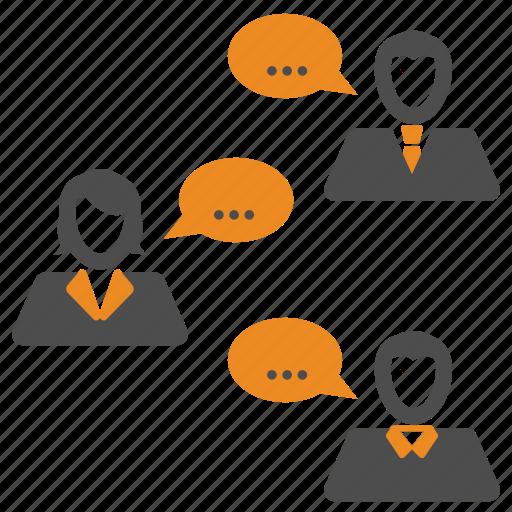 meeting, team, teamwork, users icon