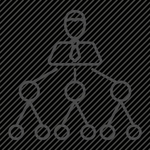 business, structure, team, teamwork icon