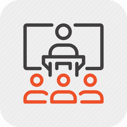 communication, conference, lecture, motivation, presentation, speech, team icon