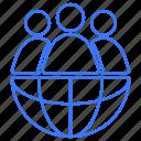 connection, globe, internet, world