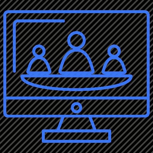 group, internet, network, team icon