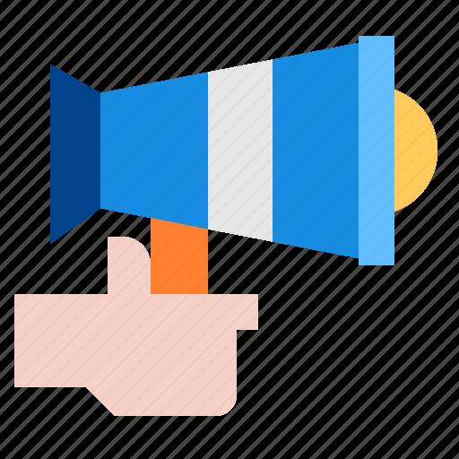 advertising, promotion, speaker icon