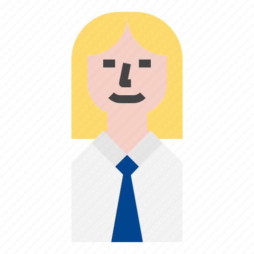 Woman, avatar, business icon